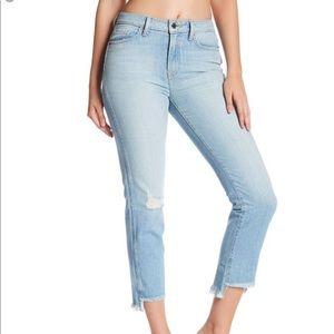 NWT Genetic Birkin High Rise Crop Jeans 28